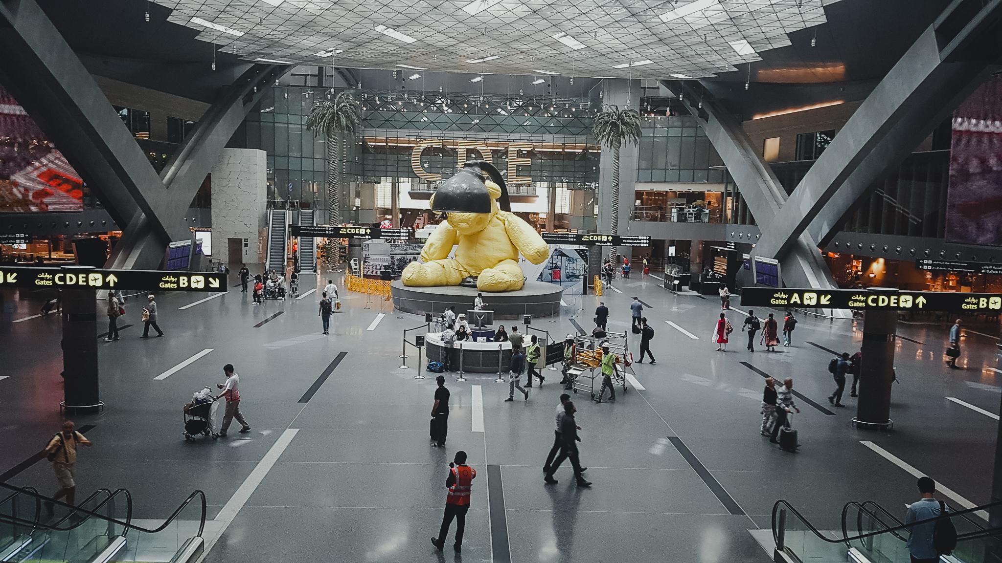 lotnisko w doha w katarze
