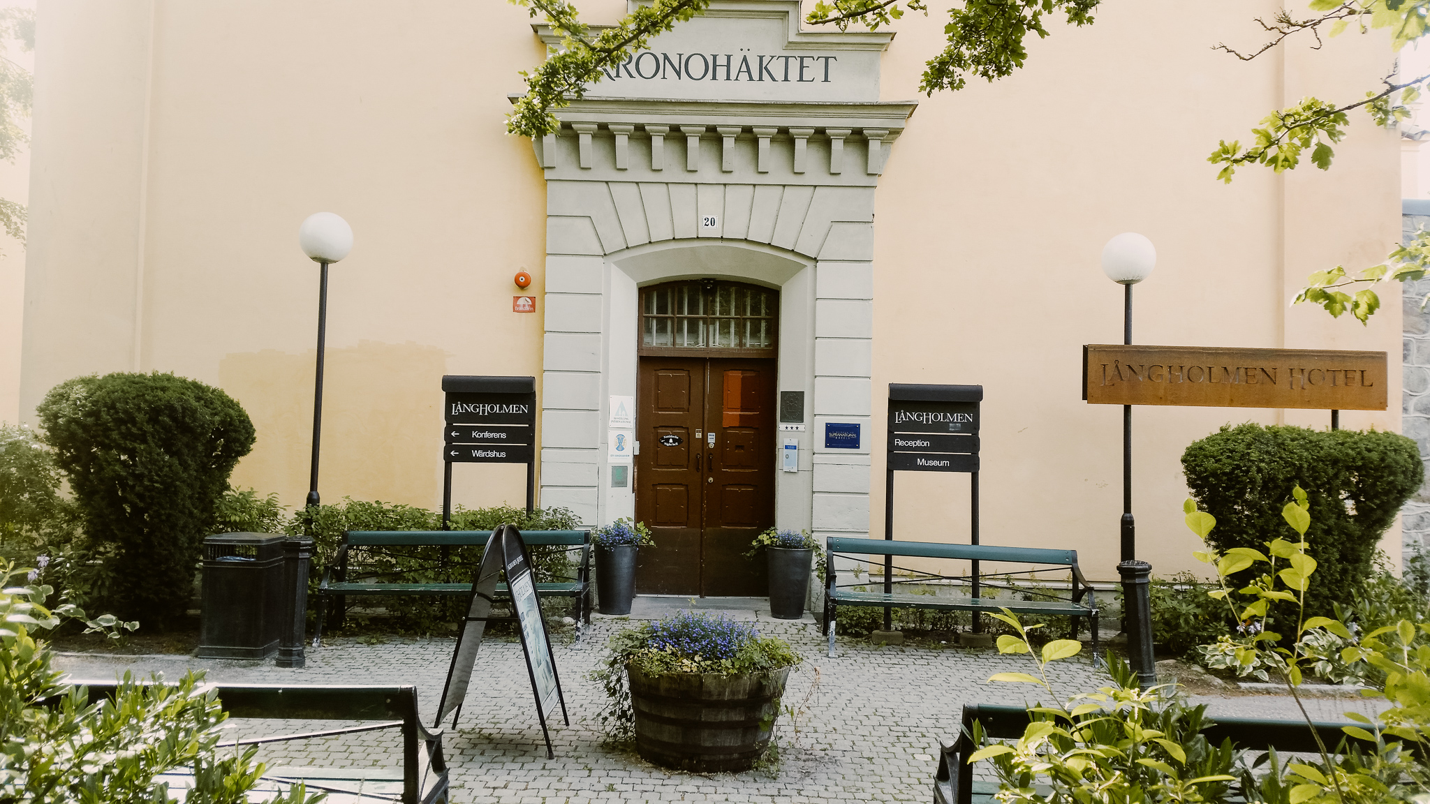 langholmen island prison