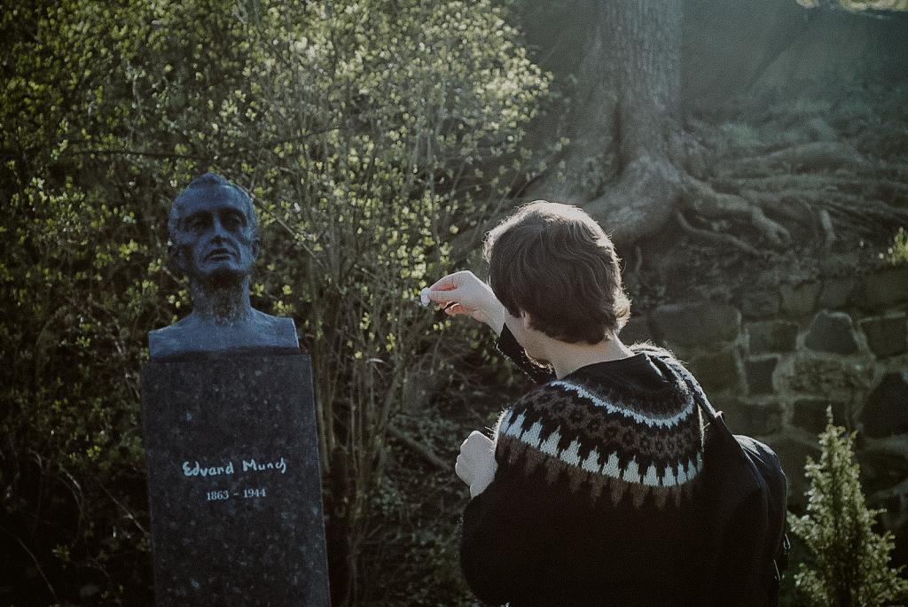 grób Edwarda Muncha