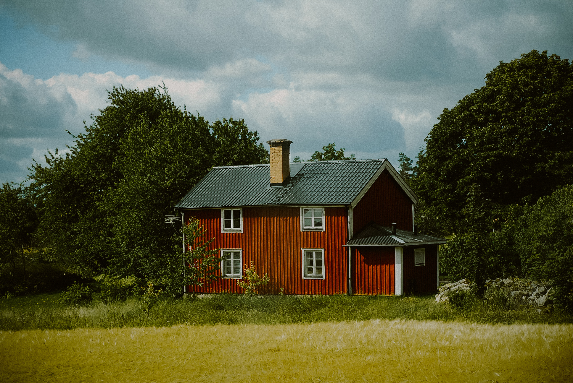 Sweeden red house