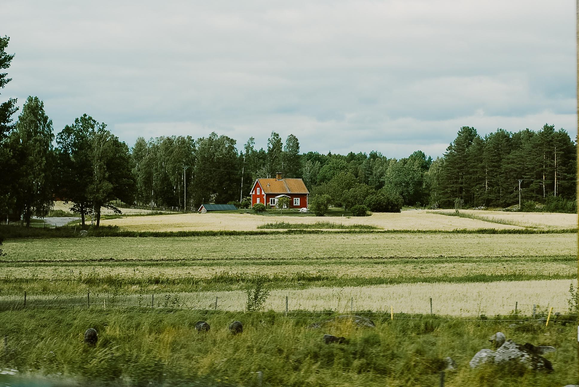 Sweeden red house sommarstuga