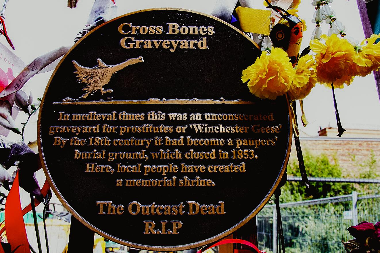 Cross Bones Graveyard Cmentarz Prostytutek